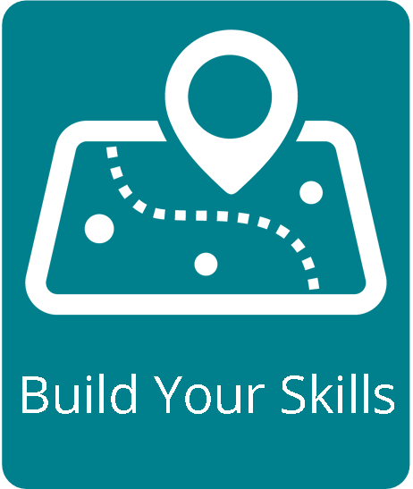 Build your skills graphic