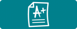 icon of graded paper